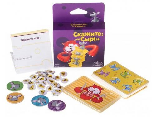 Настольная игра GAGA Скажите: Сыр! (от 8 лет), вид 2