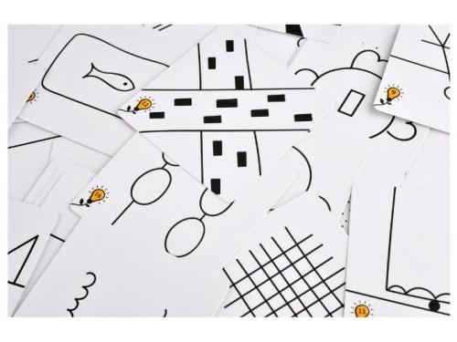 Настольная игра Magellan Друдлы, чёрно-белая версия, вид 3
