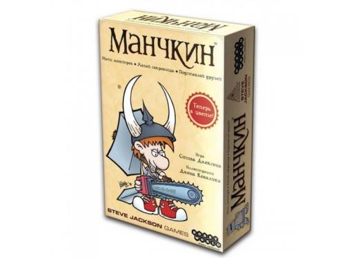Настольная игра Hobby World Манчкин (цветная версия, 2-е рус. изд.) от 12 лет, вид 1