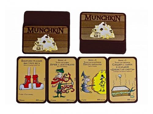 Настольная игра Hobby World Манчкин (цветная версия, 2-е рус. изд.) от 12 лет, вид 2