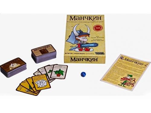 Настольная игра Hobby World Манчкин (цветная версия, 2-е рус. изд.) от 12 лет, вид 3