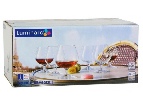Стакан Набор фужеров Luminarc French Brasserie  J0010 9 (для коньяка), вид 3