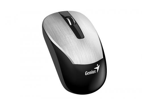 Мышь Genius ECO-8015, 2.4 GHz, встроенный аккумулятор, Серебристая, вид 1