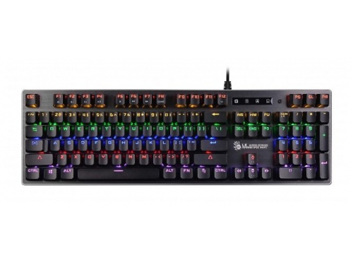 Клавиатура A4Tech B760 USB, черная, вид 1