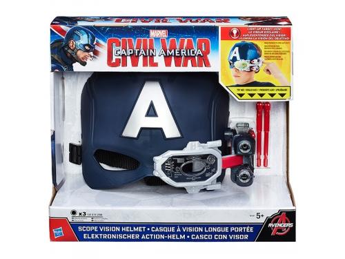 Набор игровой Hasbro Avengers, электронный шлем Первый Мститель, с аксессуарами, вид 2