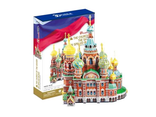 Набор игровой CubicFun  (пазл) Собор Воскресения Христова (Россия), вид 2