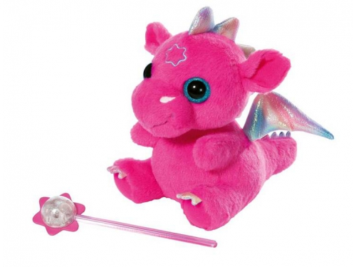 Игрушка мягкая Zapf  Baby born, Дракон из Страны чудес, розовый, вид 1