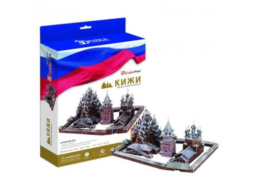 Набор игровой CubicFun (пазл) Кижи (Россия), вид 2