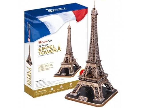 Набор игровой CubicFun (пазл) Эйфелева Башня (Франция), вид 2