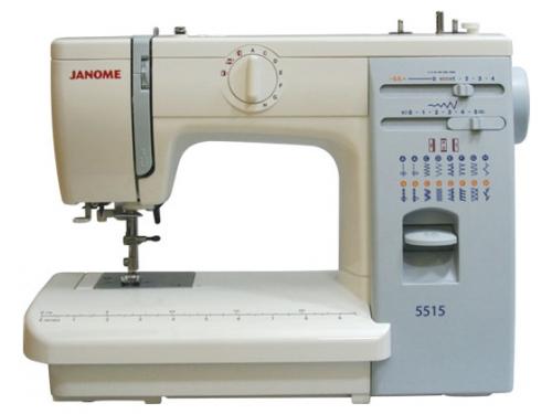 Швейная машина Janome 5515, белая, вид 1