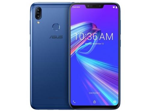Смартфон Asus ZB633KL Max M2 4Gb/64Gb, синий, вид 1