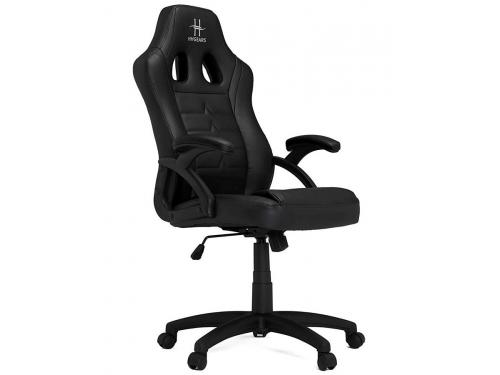 Игровое компьютерное кресло HHGears SM115_BK, чёрное, вид 2