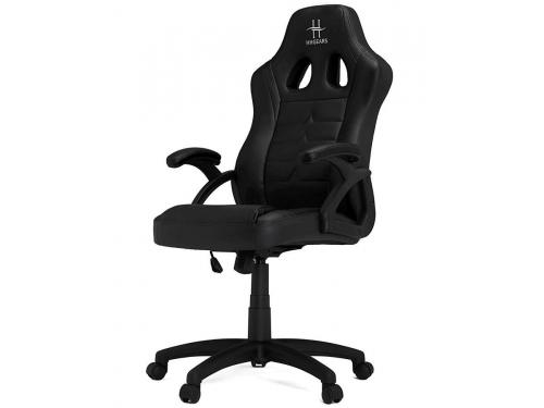 Игровое компьютерное кресло HHGears SM115_BK, чёрное, вид 3