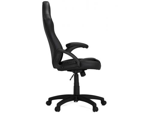 Игровое компьютерное кресло HHGears SM115_BK, чёрное, вид 5