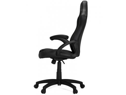 Игровое компьютерное кресло HHGears SM115_BK, чёрное, вид 4