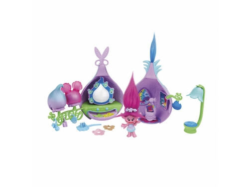 Игрушки для девочек Набор Hasbro Trolls Салон красоты Троллей B6559, вид 1