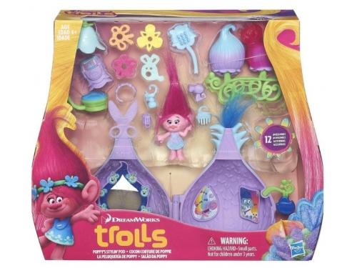 Игрушки для девочек Набор Hasbro Trolls Салон красоты Троллей B6559, вид 3