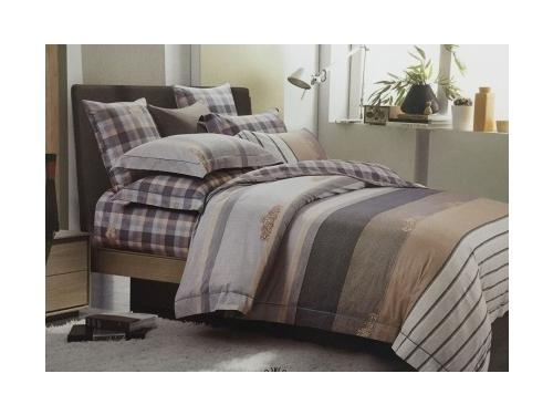 Комплект постельного белья DO&CO, сатин, евро, нав. 50х70*2 и 70х70*2,   SAFIR, вид 1