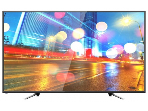 телевизор Hartens HTV-50F01-T2C/A7 черный, вид 1