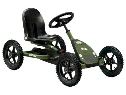 Педальная машина Веломобиль Berg Jeep Junior Pedal Go-kart арт. 24.21.34, вид 1