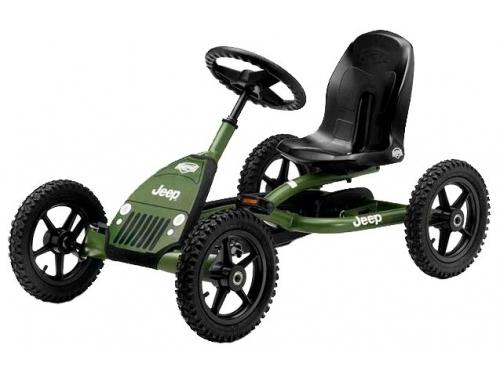 Педальная машина Веломобиль Berg Jeep Junior Pedal Go-kart арт. 24.21.34, вид 2