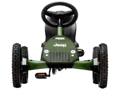 Педальная машина Веломобиль Berg Jeep Junior Pedal Go-kart арт. 24.21.34, вид 3