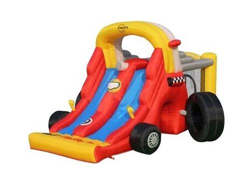 Батут детский Happy Hop Формула-1 9026 (надувной), вид 1