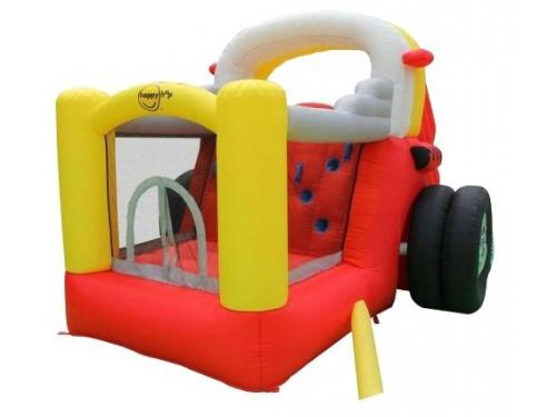 Батут детский Happy Hop Формула-1 9026 (надувной), вид 3