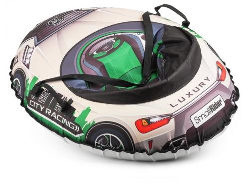 Тюбинг Small Rider Snow Cars 3 LX, зеленый, вид 2