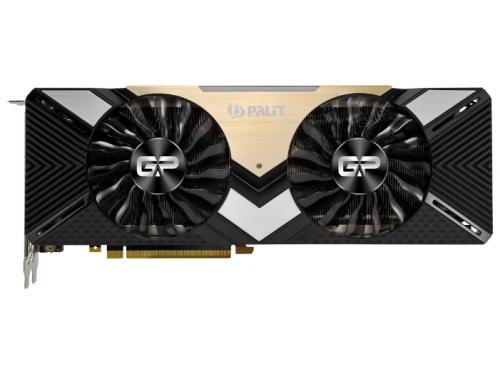 Видеокарта GeForce Palit PCI-E NV RTX 2080Ti NE6208T020LC-150A 11gb, вид 1