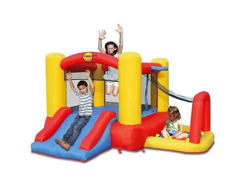 Батут детский Happy Hop игровой центр 4 в 1, до 90 кг, 9450, вид 1