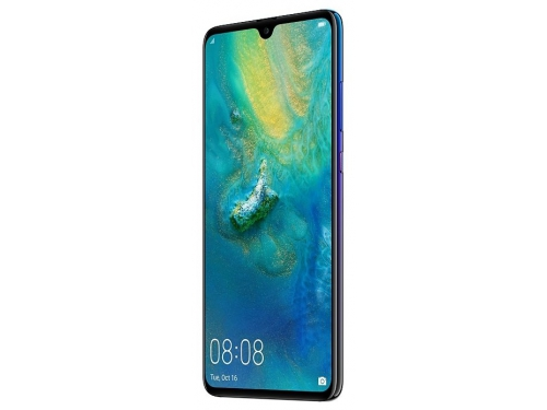 Смартфон Huawei Mate 20 6/128Gb HMA-L29 twilight, синий, вид 1