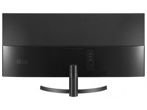 Монитор LG 34WK500-P LCD, черный, вид 8