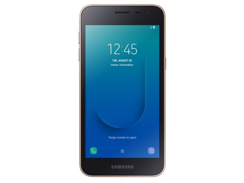 Смартфон Samsung Galaxy J2 core SM-J260, золотистый, вид 1