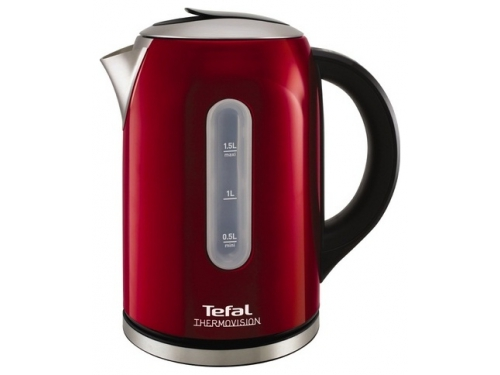Чайник электрический Tefal KI410530, красный, вид 1