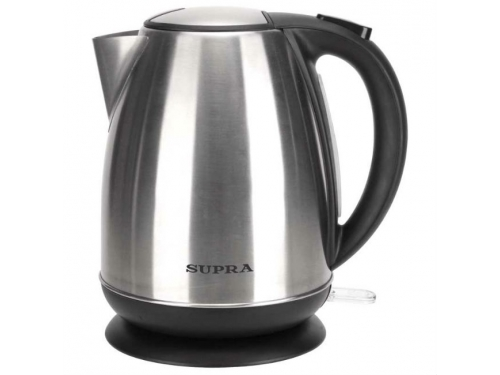 Чайник электрический Supra KES - 1733N, серебристый, вид 1