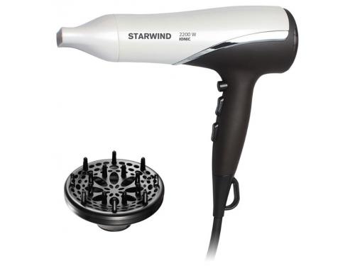 Фен / прибор для укладки Starwind SHP7817, темно-коричневый/белый, вид 1