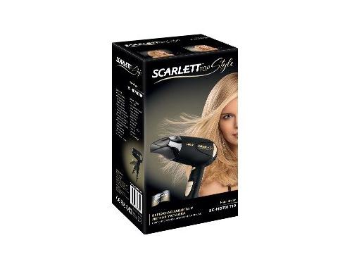 Фен / прибор для укладки Scarlett SC-HD70IT10, черный/золотистый, вид 2
