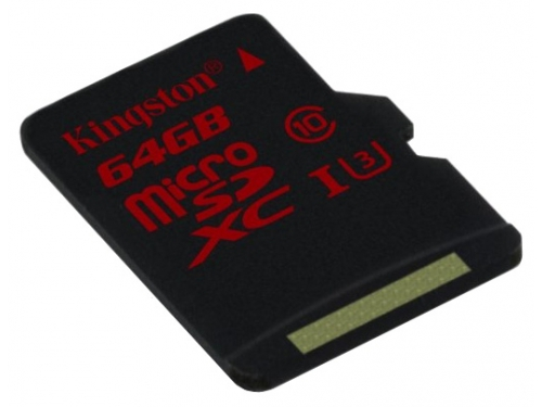 Карта памяти Kingston SDCA3/64GBSP (64Gb, class10), вид 2