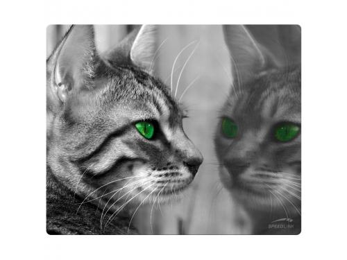 Коврик для мышки Speedlink SILK (230x190x1.5 мм), кошка, вид 1