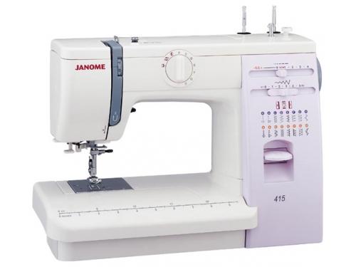 Швейная машина Janome 415 белая, вид 1