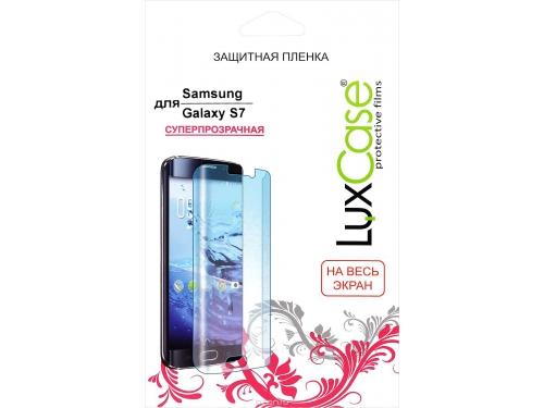 Защитная пленка для смартфона LuxCase для Samsung Galaxy S7 (81438), вид 1