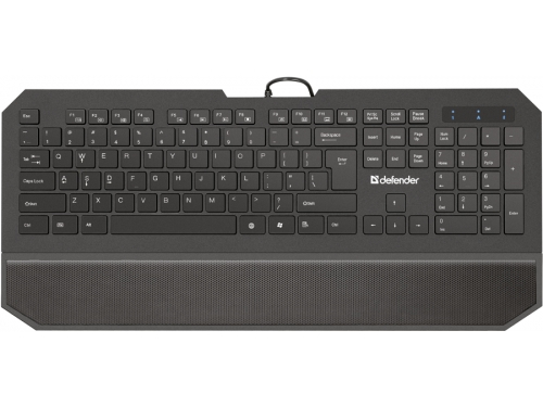 Клавиатура Defender ММ Oscar 600 Pro Black, вид 1