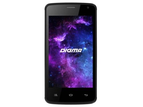 Смартфон Digma A400 3G Linx 4Gb, чёрный, вид 1