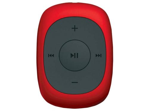 Медиаплеер Digma C2L 4Gb, красный/FM/clip, вид 1