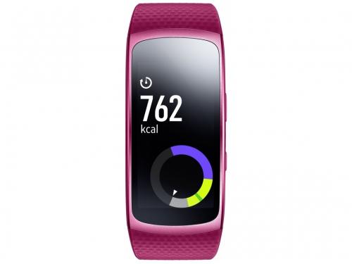 Фитнес-браслет Samsung Galaxy Gear Fit 2,Super AMOLED(SM-R3600ZIASER)розовый, вид 1