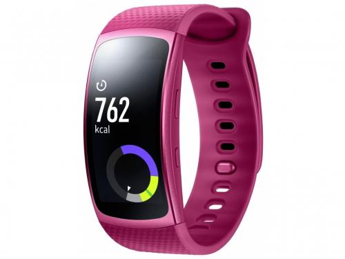 Фитнес-браслет Samsung Galaxy Gear Fit 2,Super AMOLED(SM-R3600ZIASER)розовый, вид 4