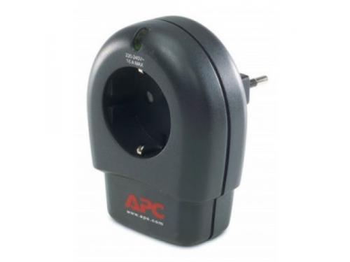 Сетевой фильтр APC P1T - RS, черный, вид 1