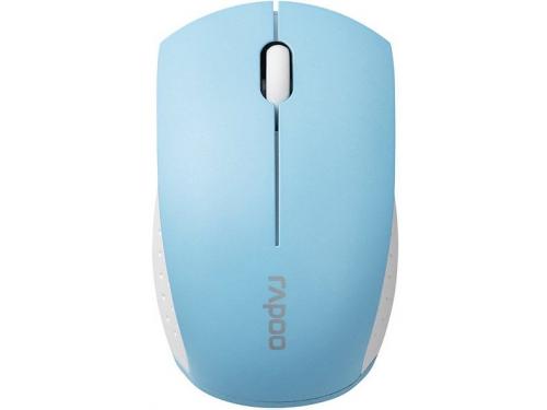 Мышка RAPOO,mini 3360 синяя, вид 2