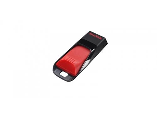 Usb-флешка Sandisk 32Gb Cruzer Edge, красный / черный, вид 2